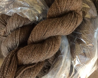 Yarn, light reddish brown