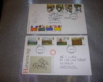 1979  -  2 First Day Covers  Jun & July
