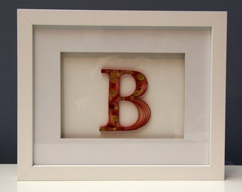 Quilled Paper Art Decorative Letters