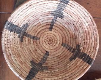 Set of 5 Zambian Woven Grass Baskets