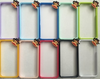 Hand Crafted Cheeky Monkey Bumper for iPhone 4 Various Colours