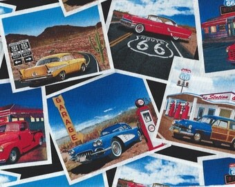 Classic Cars and Trucks on cards,Timeless Treasures