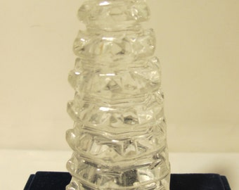 Natural  Clear Crystal  Hand Carving  Tower