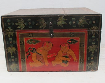 Vintage Rectangular Children Box