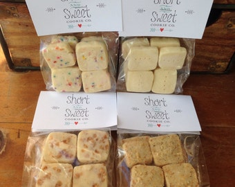 4 Bags in a Box *Mix & Match* Shortbread Cookies