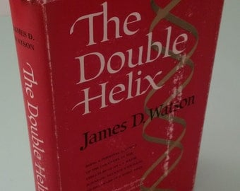 The Double Helix, James Watson. First US Edition, 1st Printing 1968