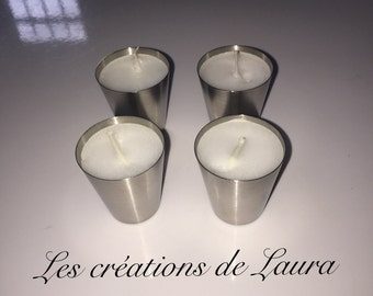 Lot of 4 small candles