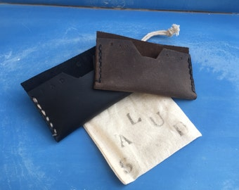 Single Pocket Wallet /Made to Order