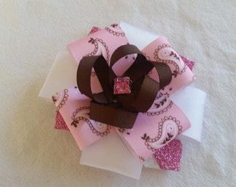 pink bandana bow