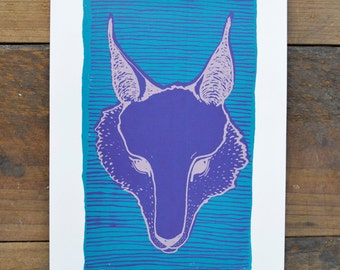 Original Screenprint - Fox