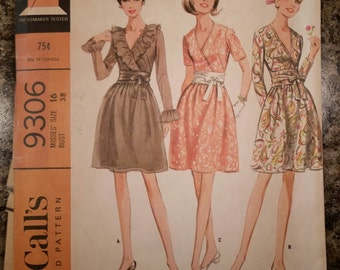 25% off! McCall's 9306, bust 38