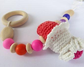 "Sensory toy stroller ""PANNAFRAGOLA"""