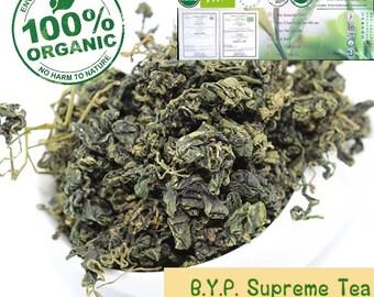 100g Jiaogulan (Gynostemma pentaphyllum) Organic Herbal Tea,Certified Organic Herbal Tea,Highest Quality Tea from Thailand