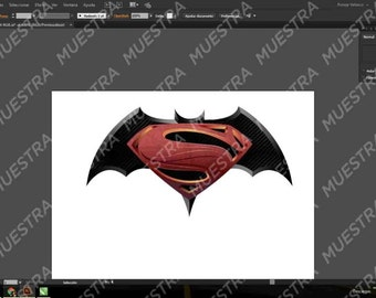 Batman V Superman PNG logo