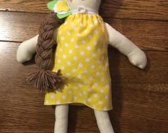 Doll with tracheostomy