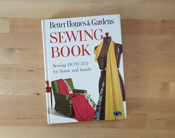 Vintage 1961 Better Homes & Gardens Sewing Book, Lucille Rivers and BHG Editors Hardcover