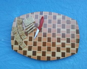 Weave Pattern Sushi/Serving Board
