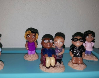 Custom Chibi, polymer clay chibi, cute chibi, custom polymer clay chibi, kawaii polymer clay chibi charm, chibi, polymer clay, kawaii