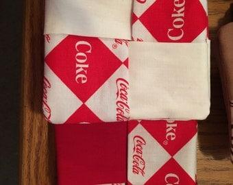 Coke coaster