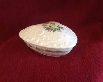 Coalport Rose Garden Trinket Box