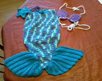 Newborn Mermaid Photo Prop