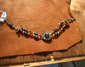 Harvest Colors Beaded Bracelet