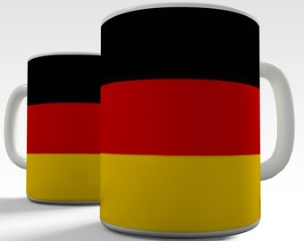 German Flag Ceramic Funny Mug