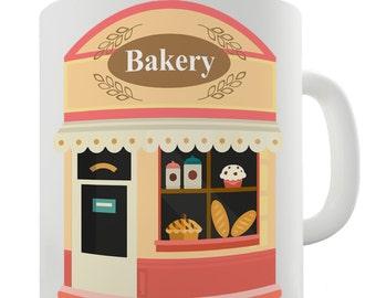 Cute Bakery Ceramic Novelty Gift Mug