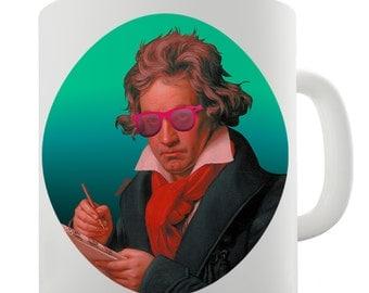 Beethoven Modern Ceramic Tea Mug