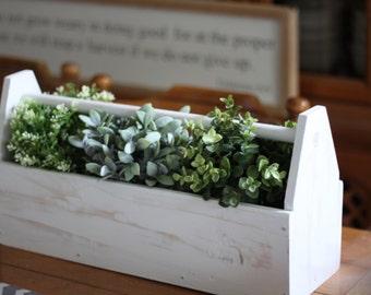 White Tool Box
