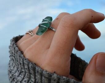 Beach Glass Ring no.1