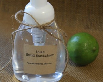 Lime Hand Sanitizer 8 oz.