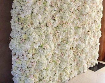 Flower wall for backdrop or photo booth