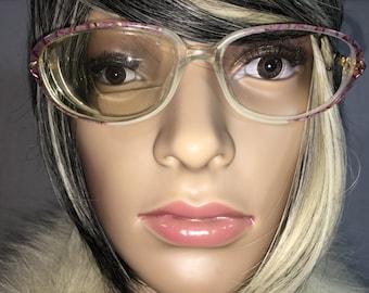 Vintage 80'S WOMENS Luxottica Eyeglasses Frames