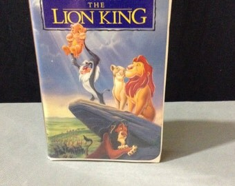 What Disney Masterpiece The Lion King VHS