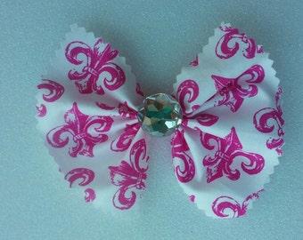 Set of 2 Paris Fabric Bows