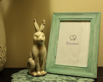 Picture Frame/Mint Green/ 5x7