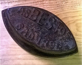 Very Old / Antique Rusty Iron - Paperweight - Doorstop - Decorative Accessory