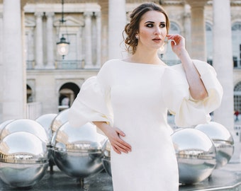 Evening Cocktail Wedding DRESS  by DONYA