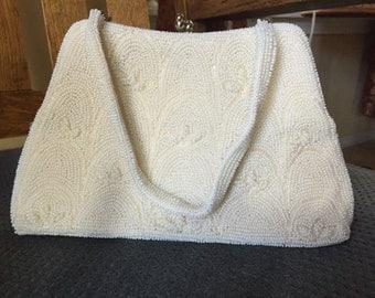 Vintage Beaded Hand Bag