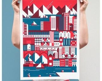 Print - Building Cities