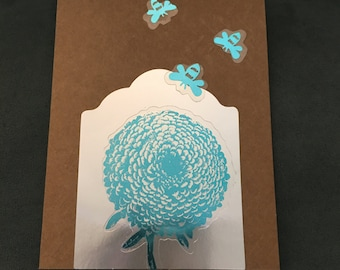 Handmade Blank greeting card