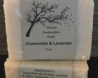 Bastille Baby Homemade Bar Soap, Sensitive Skin, Lavender & Chamomile(HuggiesType)