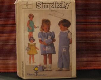Boss Simplicity 7353 / dress - overalls