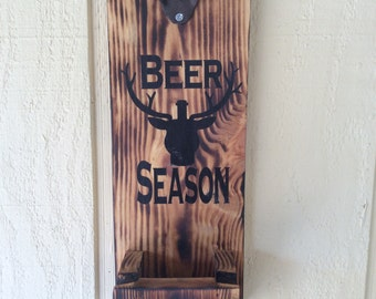 Beer season bottle opener