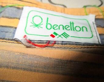 Fabulous Benelton Vintage Shirt Size L - Short Sleeve