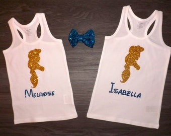 Disney Princess Jasmine Silhouette personalized with child's name