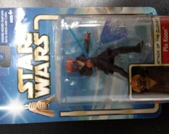 Star Wars: Attack of the Clones Plo Koon Action Figure (2001) Hasbro
