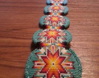 beaded conch belt