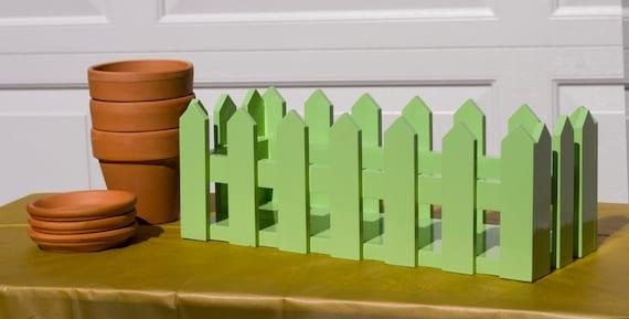 3-Pot Picket fence Flower Box